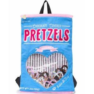 BETSEY JOHNSON • pretzel kitsch printed backpack